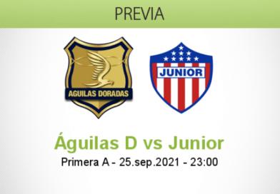 Pronóstico Águilas D vs Junior