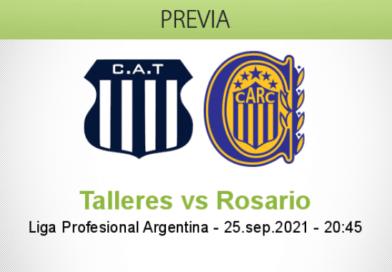 Pronóstico Talleres vs Rosario