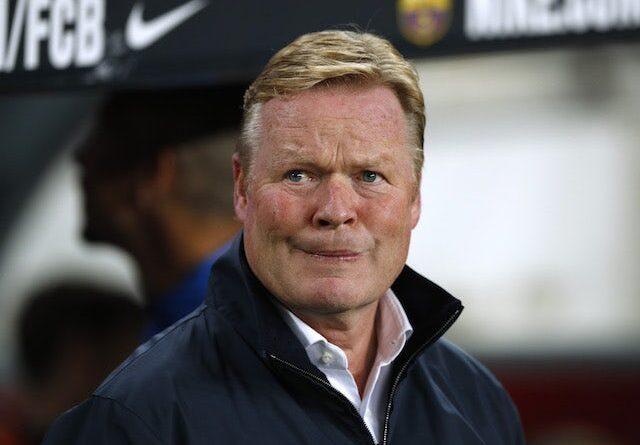 Ronald Koeman, técnico del Barcelona, el 17 de octubre de 2021