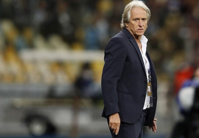 Jorge Jesus, entrenador del Benfica, el 14 de septiembre de 2021