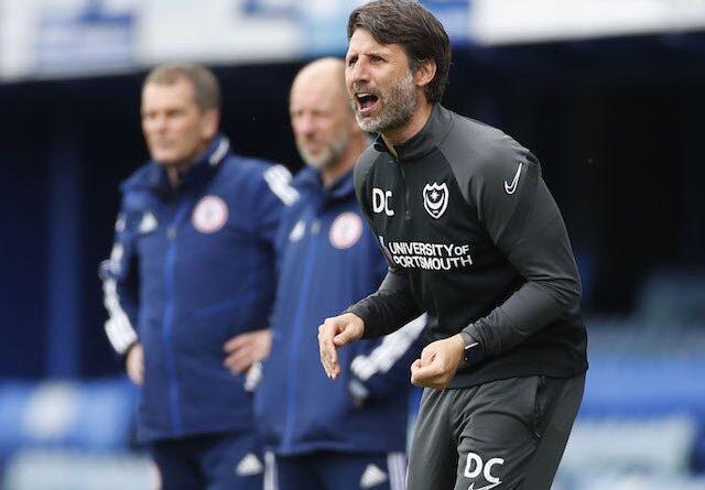 El entrenador del Portsmouth, Danny Cowley, fotografiado el 9 de mayo de 2021