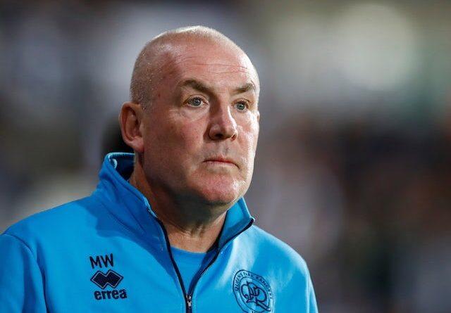 El gerente de Queens Park Rangers (QPR), Mark Warburton, fotografiado el 24 de septiembre de 2021