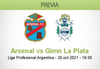 Pronóstico Arsenal vs Gimn La Plata